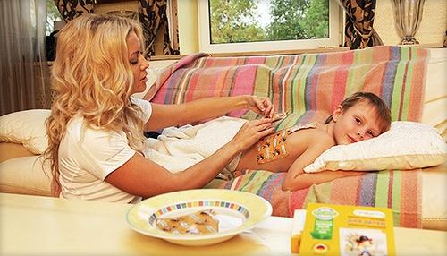 горчичники для ребенка