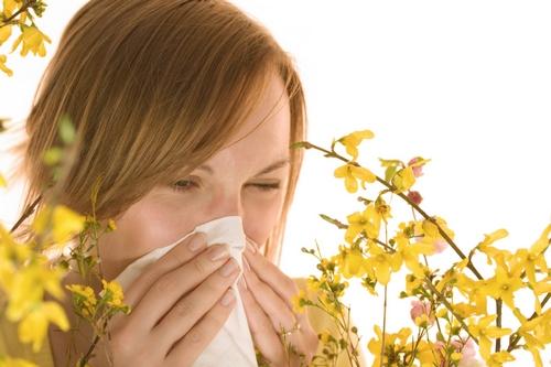 насморк от аллергии