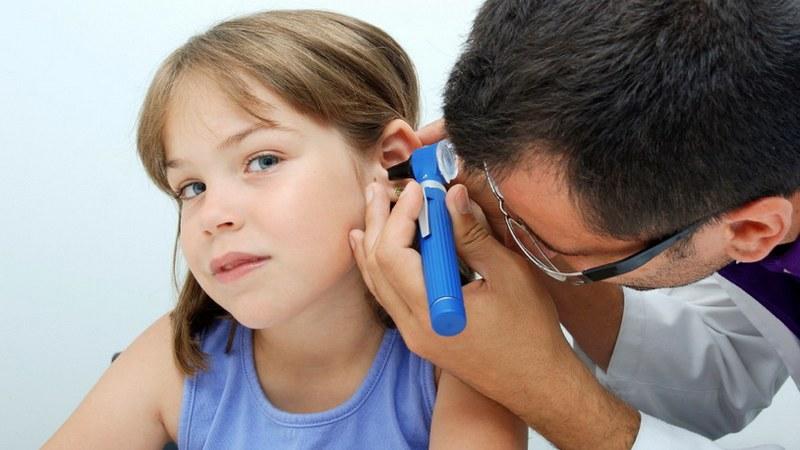 проверка ушей
