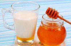 Молоко с медом и лимоном при простуде