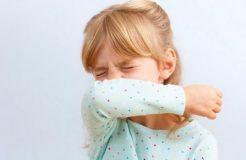 Лечение сухого приступообразного кашля у ребенка