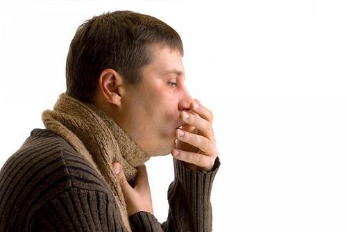 мужской кашель