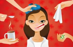 Признаки и симптомы гриппа у взрослых и детей