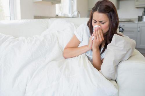 заболела гриппом