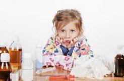 Согревающие мази при простуде для детей