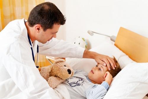 Лечение гриппа у детей