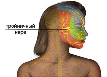 тройничный лицевой нерв