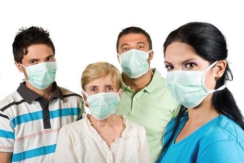 Маска от гриппа
