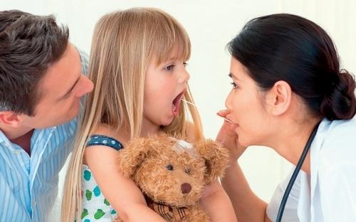 лечения ангины у детей