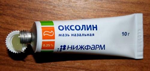 Оксолиновая мазь
