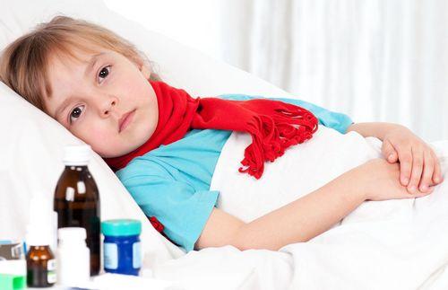 ангина у ребенка