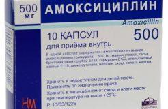 Инструкция по применению Амоксициллина при ангине