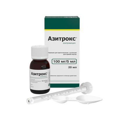 При гнойной ангине можно азитромицин thumbnail