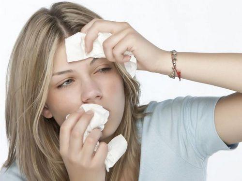 насморк и головная боль