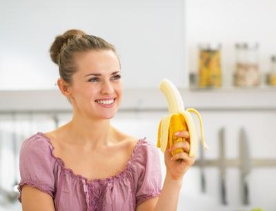 банан при ОРВИ