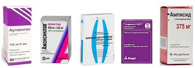 препараты для лечения ангины