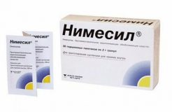 Применение препарата Нимесил при простуде
