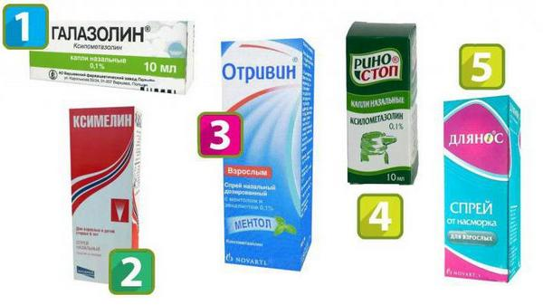 лекарства для носа