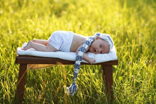 ребенок на природе
