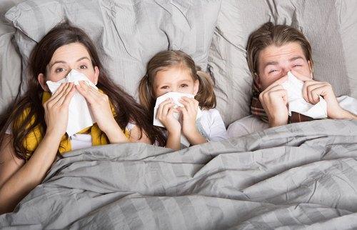 заражение простудой