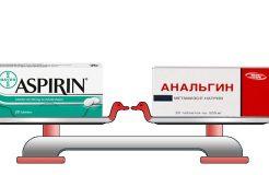 Применение тройчатки от температуры: парацетамола, анальгина и аспирина