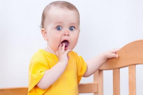 удивление ребенка