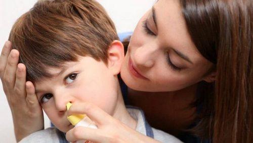 лечение насморка у ребенка