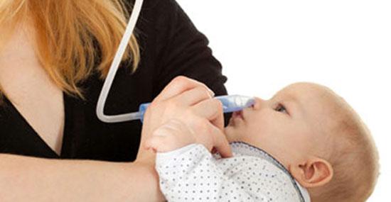 очищение носа у ребенка