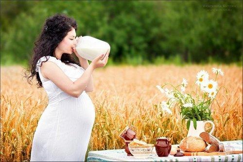 молоко для беременной женщины