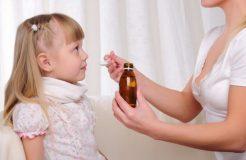 Микстура для детей от кашля в сухом порошке