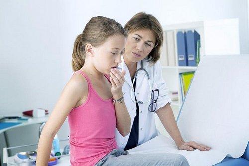 приступы кашля у детей
