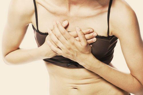 сильная боль в груди