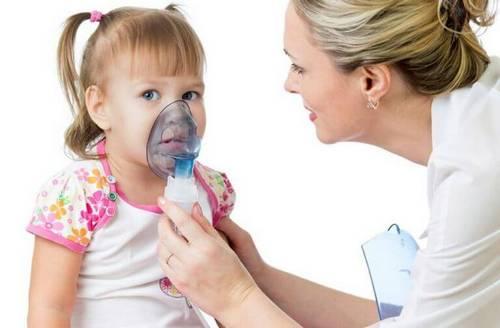 Ингаляция при кашле ребенку