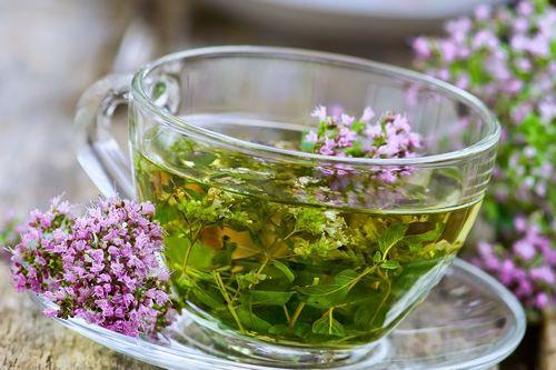 чай с тимьяном от кашля