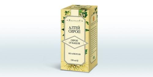 Сироп алтея