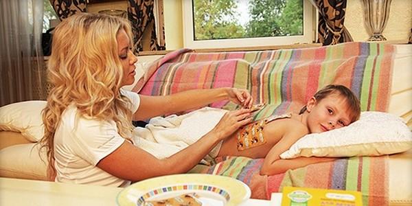 Согревающие компресс для  ребенка