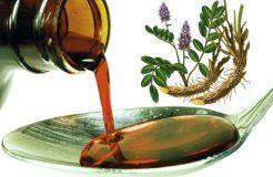 Сироп корня солодки от сухого кашля — рецепты