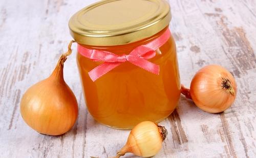 Лук с медом при лечении кашля